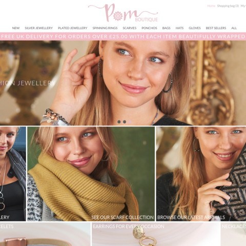 E-commerce - POM Boutique