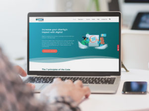 Using digital in charities - the Charity Digital Code of Practice website
